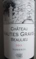 Château HAUTES GRAVES BEAULIEU