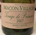 Mâcon-Villages Tirage de Primeur