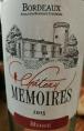 Chateau Memoires