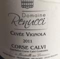Domaine Renucci Cuvée Vignola