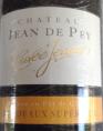 Château Jean de Pey Cuvée Jeanne