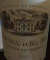 Château de Bel Air Lalande de Pomerol