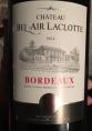 Château Bel Air Laclotte