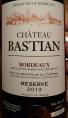 Château Bastian Réserve