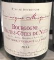 Hautes-Côtes de Nuits Vendange à la main