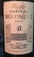 Réserve Château Bertinerie