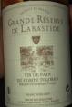 Grande Réserve de la Bastide