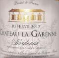 Réserve Château La Garenne