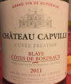 Château Capville - Cuvée prestige
