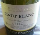 Pinot Blanc Cuvée séléctionnée