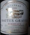 Château Hautes Graves Bordeaux