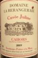 Cahors Cuvée Juline