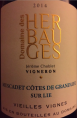 Muscadet Côtes de Grandlieu sur lie - Vieilles Vignes