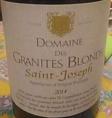 Domaine des Granites Blonds - Saint-Joseph
