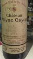 Château Mayne Guyon Premières Côtes de Blaye