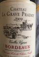 Vieilles Vignes Bordeaux