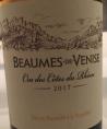 Beaumes de Venise