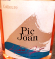 DOMAINE PIC JOAN