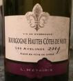 Les Avelines - Bourgogne Hautes Côtes de Nuits