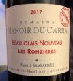 Beaujolais Nouveau les Ronzieres