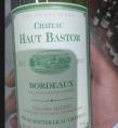 Chateau Haut Bastor