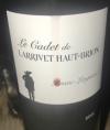 Le Cadet de Larrivet Haut-Brion
