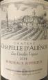Château Chapelle d'Aliénor Les Vieilles Vignes