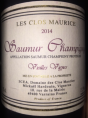 Saumur Champigny - Vieilles vignes