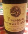 Bourgogne Réserve des Cordeliers