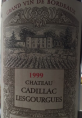 Grand Vin de Bordeaux  Cadillac
