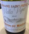 Vieilles Vignes Côtes du Rhône