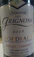 Domaine des Grignons Bordeaux