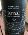 TERRAE FINCA VASALLO GARNACHA