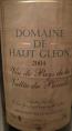 Domaine De Haut Gleon