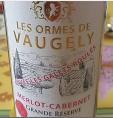Les Ormes de Vaugely - Merlot Cabernet Grande Réserve