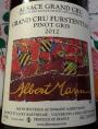 Grand Cru Furstentum - Pinot Gris