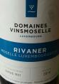 Domaines Vinsmoselle Luxembourge Rivaner
