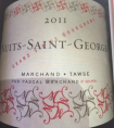 Nuits-Saint-Georges Marchand Tawse