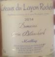 Côteaux du Layon Rochefort Moëlleux