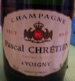 Champagne Pascal Chretien - Brut
