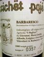 Barbaresco Crichet Pajé