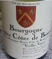 Hautes Côtes de Beaune Vieilles Vignes