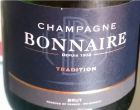 Tradition Champagne Bonnaire