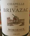 Bordeaux - Chapelle de Brivazac