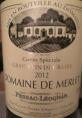 Grand Vin de Graves Cuvée Spéciale