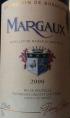 Margaux  Grand Vin de Bordeaux