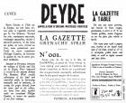 N°001 La Gazette