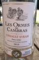 Les ormes de Cambras - cinsault / syrah