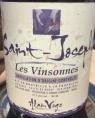 Saint-Joseph Les Vinsonnes
