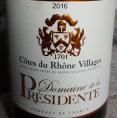 Domaine de la Présidente Côtes du Rhône